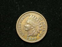 BLOW OUT SALE!  AU 1897 INDIAN HEAD CENT PENNY w/ FULL LIBERTY & DIAMONDS 272v