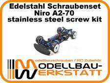 XXL Edelstahl Schrauben Set Tamiya TRF419 TRF418 stainless steel screw kit