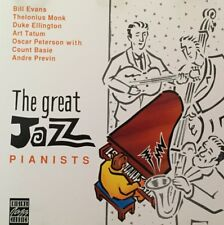 THE GREAT JAZZ PIANISTS CD. Bill Evans Thelonius Monk Art Tatum