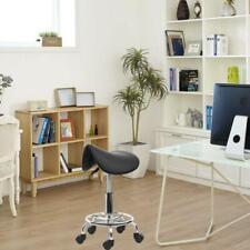 Hydraulic Rolling Swivel Stool Salon Spa Tattoo Saddle Chair Facial Massage