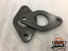 "Weld on 2 Bolt Roll Cage Tube Flange CNC Laser Cut for 1.5"" Tubing SFFL2150"