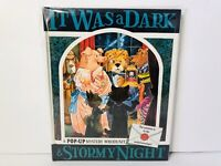 It Was a Dark Stormy Night Pop Up Book by Keith Moseley Vintage 1991 Rare 1st Ed