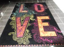 Il tappeto d'amore, 9' x 6', Mano Nuovo di zecca, - annodato, Lana Fine Morbida... consegna gratuita.