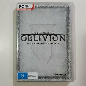 The Elder Scrolls IV Oblivion 5th Anniversary Edition PC DVD