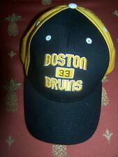 Boston Bruins adjustable Black hat cap Osfm-Zdeno Chara #33 Nice