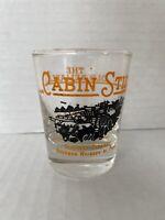 Cabin Still Bourbon Whiskey Shot Glass Stitzel Weller Distillery Old Reliable