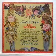 DANIEL LAVAL, TERESA LLACUNA - CHOPIN the rondos, variations EMI LP STILL SEALED
