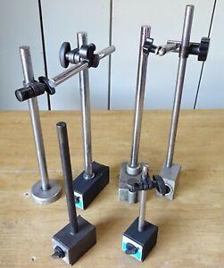 6 Stück Magnet Messstativ Messständer Messuhr Stativ Messuhrhalter Meßuhrständer