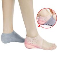 FP- 2cm Invisible Height Lift Heel Pad Sock Liners Increase Heightened Gel Insol