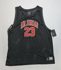 NWT Nike Jordan DNA Distorted Jersey UNC Chicago Bulls Black XXL 2XL AJ1140-010