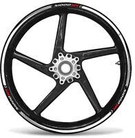 STRISCE ADESIVE compatibili per MOTO BMW S1000 XR adesivi CERCHI 17' tuning