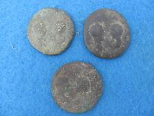 ROMAN Lot (3) Dual facing busts RARE/SCARCE 31 grams