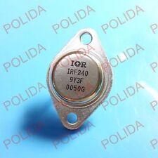 1PCS  MOSFET Transistor IR/MOTOROLA TO-3 IRF240