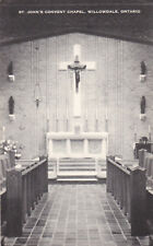 St John's Convent Chapel , WILLOWDALE , Ontario , Canada , 30-40s
