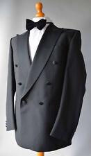 """Mens Black Baumler Ricardo,Wool Blend Tuxedo / Dinner Suit.Chest 41"""" W32"""" L32""""."""