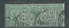 1891 S.G.212 - QUEEN VICTORIA £1 GREEN  -  USED