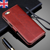 For Apple iPhone 7 & 7 Plus Flip Magnetic Wallet Leather Case Cover Luxury