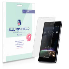 iLLumiShield Matte Screen Protector w Anti-Glare/Print 3x for Sony Xperia Z1S