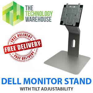 "Dell Monitor Stand for 15"" to 27"" Monitors Tilt Adjustability - UZ2715H - CJC-KS"