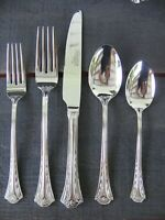 Temp-tations NEW 18/10 Stainless Flatware 80 Pcs including serving pcs 12 place