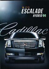 2009 Cadillac Escalade Hybrid 3-page Advertisement Print Art Car Ad J884
