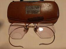 1930 Artcraft 1/10 12kt Texas State Optical Glasses And Original Case.