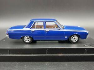 TRAX TR63B 1969 CHRYSLER VF VALIANT PACER SEDAN BLUE 1:43 SCALE DIECAST MODEL
