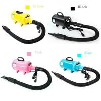 2800W Portable Dog Cat Pet Hair Grooming Dryer Blow Blaster Hairdryer 4 Colors