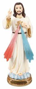 Divine Mercy Figurine 12.5 cm Jesus I Trust in You Religious Statue