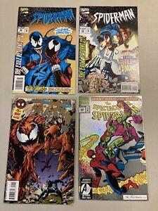4 Venom comics Web Super Special (Symbiotes) Spider-Man 52 & 53 Spectacular 200