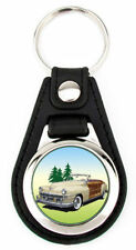Chrysler 1947 - Town and Country Richard Browne Artwork Keychain Key Fob -