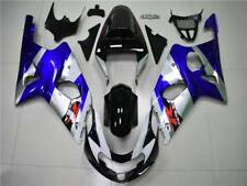 Fit for Injection Mold Blue Black Plastic Fairing 2001-2002 Suzuki GSXR 1000 m03