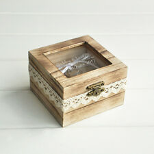 Proposal Wedding Ring Box Engagement Alternative Ring Holder Box Bearer Box