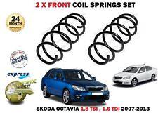 für Skoda Octavia 1.8 TSI 1.6 TDI 105bhp 2007-2013 NEU 2x Vordere Spiralfedern