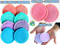 Microfiber Face Facial Scrubber Skin Care Cleansing Exfoliator Makeup Remover