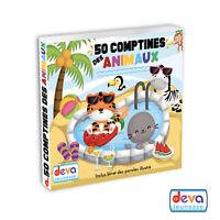 50 Comptines des animaux - (Album 2CD + Livret illustré)