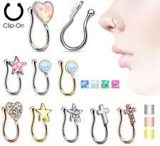 Opal Brass Body Piercing Jewellery