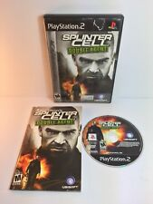 Ps2 Splinter Cell Double Agent ( Sony PlayStation 2 )