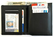 Hero's Pride Badge & ID Wallet with Card Slots & Cash Section 7 Point Star Badge