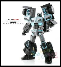 Transformers toy FansHobby Mb-01 Archenemy Scourge Black Optimus Prime in Stock