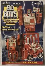 New Tonka GoBots Spoons 31 Enemy Robot Forklift from 1984