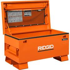 RIDGID  48 in. x 24 in. Universal Storage Chest in Orange, Brand New In Box