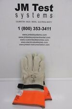 Kunz Glove Co. 1050 Leather Protectors Size 9 BR