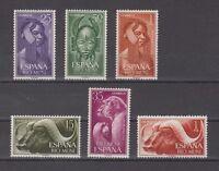 SPAIN - RIO MUNI - YEAR 1962 MNH COMPLETE - EDIFIL 29/34
