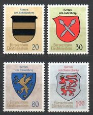 Liechtenstein - 1965 Coats of arms (II) Mi. 450-53 MNH