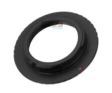Black Aluminum Made M39 Mount Lens to Minolta MD DSLR Adapter Ring