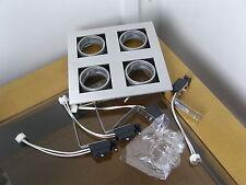 Halolite 12V MR16 Aluminium Adjustable Quad Halogen Spot Light.