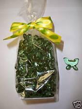 50 Green Butterfly Gardenia Bath Oil Beads