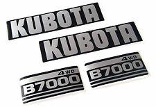 Aufklebersatz für Motorhaube Aufkleber Decal Kit passend für Kubota B7000 4 WD