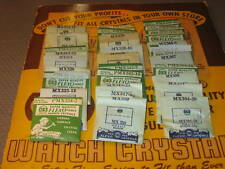 NOS Watch Crystal- Various Sizes For Elgin  Watches